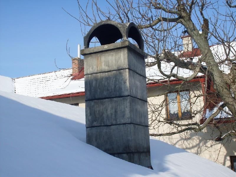 Betonová komínová hlavice