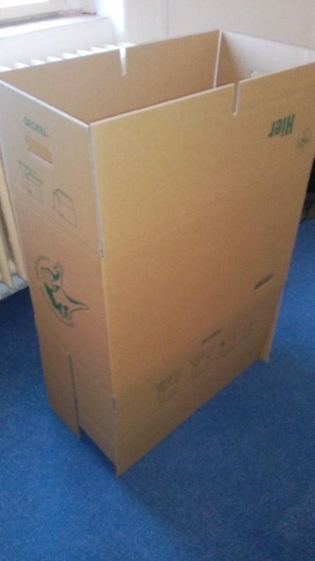 Papírová krabice - nová