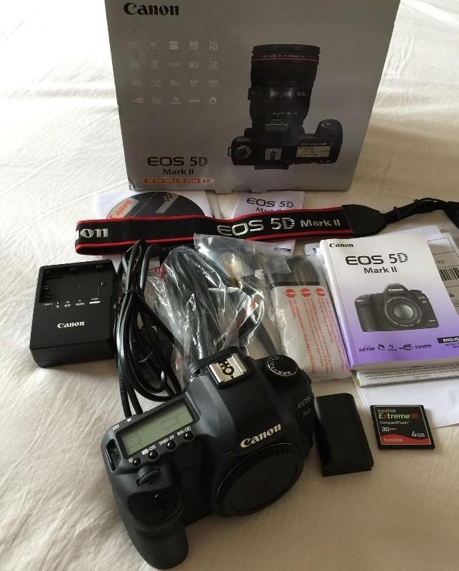 Canon EOS 5D Mark II 22,3 MP digitální SLR fotoaparáty