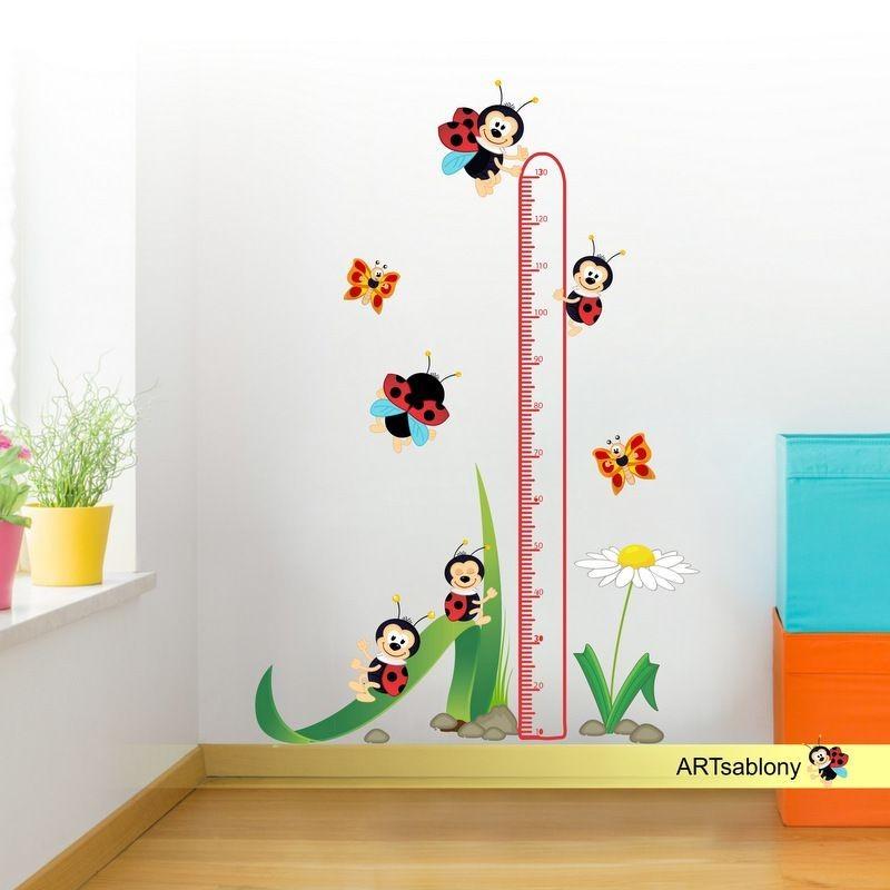 (3523f) Nálepka na stěnu - Metr BERUŠKY