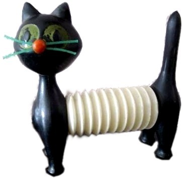 Koupím starou hračku - pískací kočku, psa, lva z 60. let