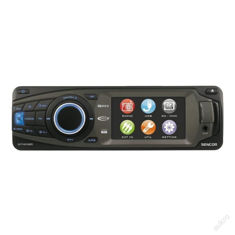 AUTORADIO SCT 8016MR + dárek!!