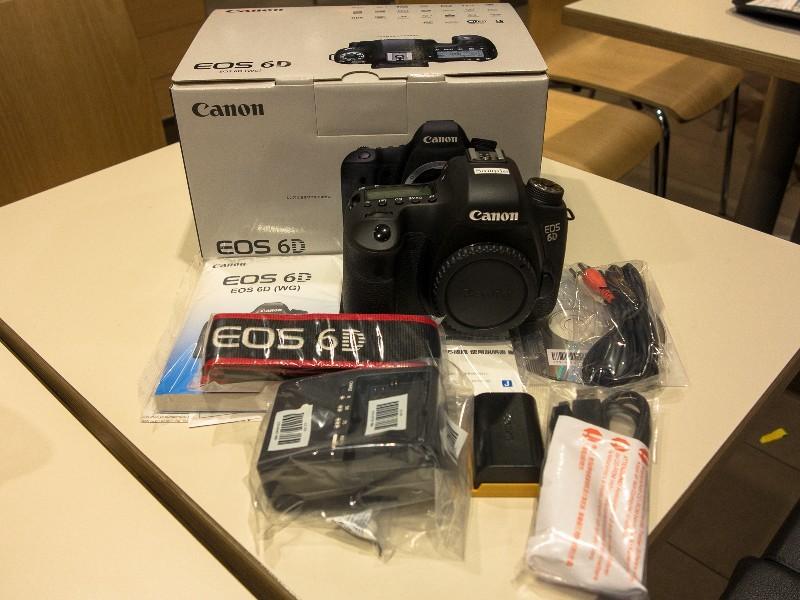 Canon EOS 6D 20,2 MP digitální SLR fotoaparáty