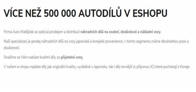 Náhradní díly Mazda - Automatejcek.cz