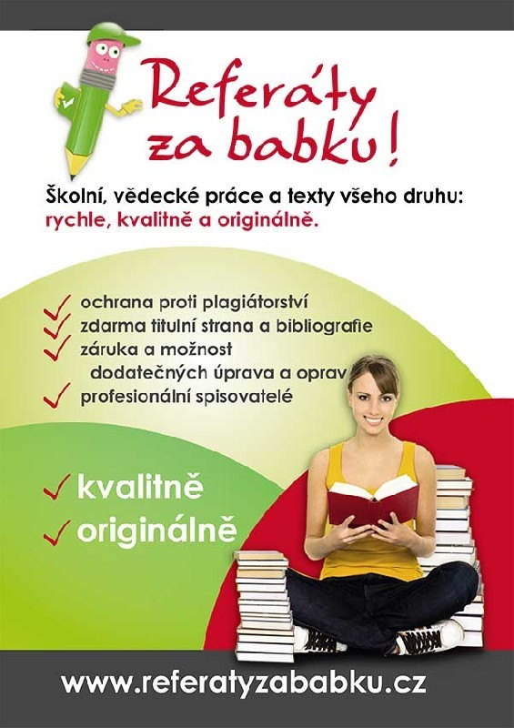 seminárky, bakalářky, diplomky - Referatyzababku.cz