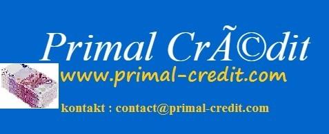Váš úvěr na našich stránkách nyní: www.primal-credit.com