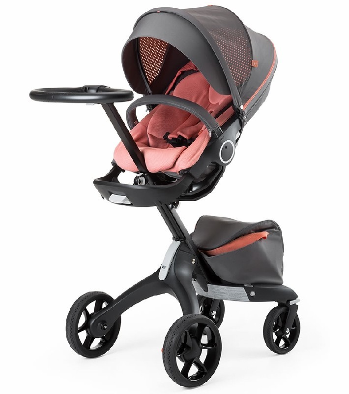 STOKKE XPLORY ATHLEISURE STROLLER - CORAL