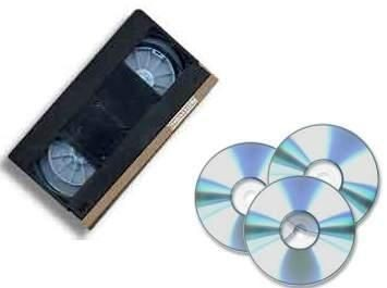 Přepis VHS na DVD