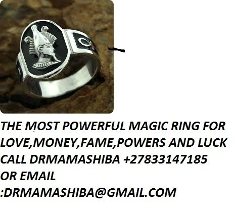 the powerful magic ring for love money fame +27833147185