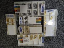 Prodám nástroje od značky SECO, (plátky, hlavy, nože)