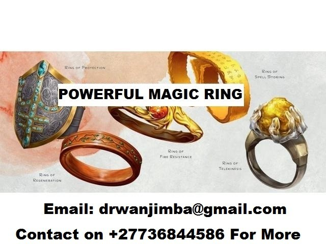 Magic Rings for Wealth Love Luck and Protection Call Prof Salim +27736844586