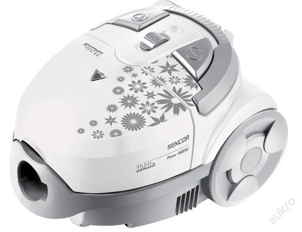 Sáčkový vysavač Sencor SVC 530WH + dárek