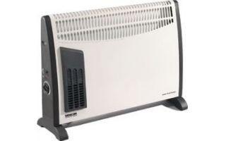 Konvektor SCF2001 s vestavěným ventilátorem+dárek
