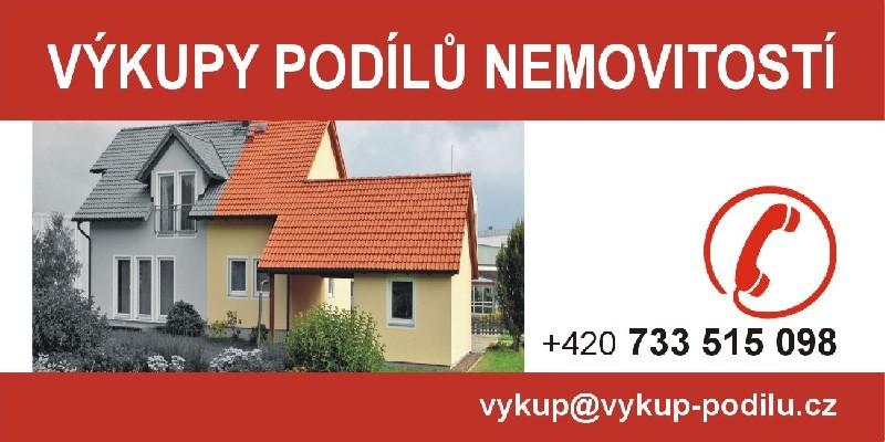 Odkup podílu na nemovitosti.