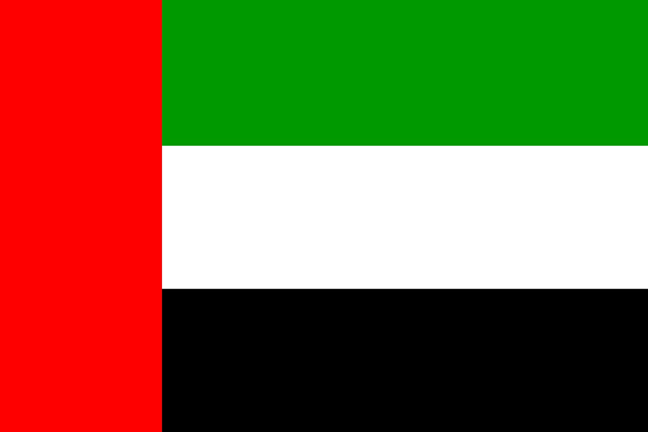 Poděkování z Emirátů