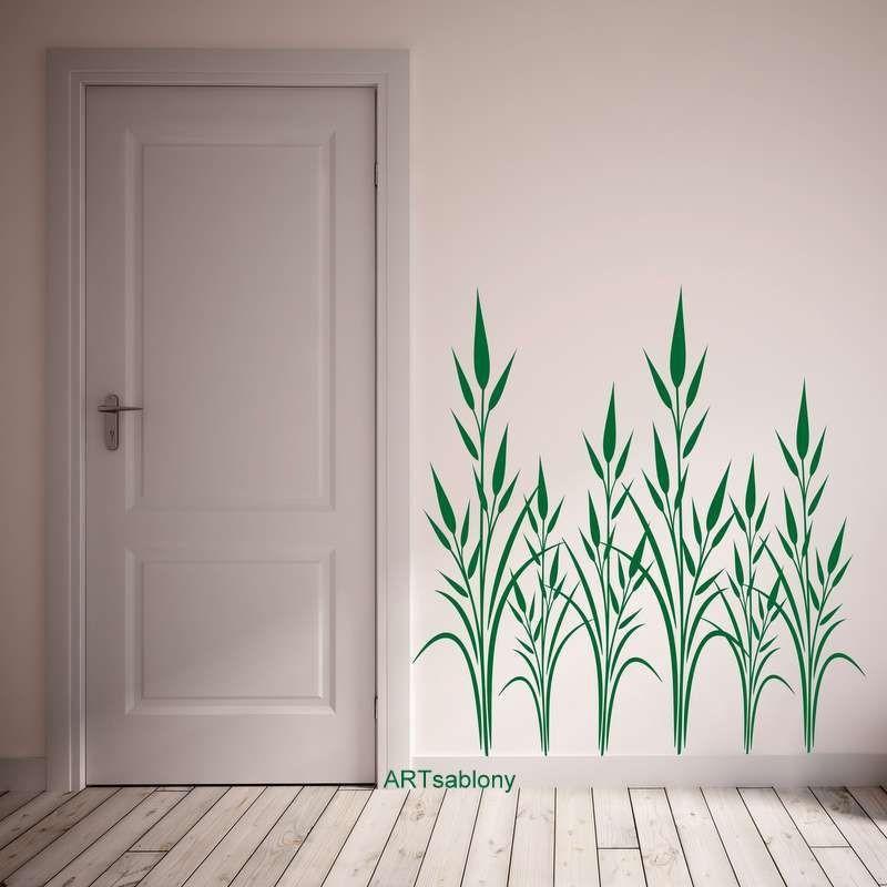 (3519n) Nálepka na stěnu - Listy
