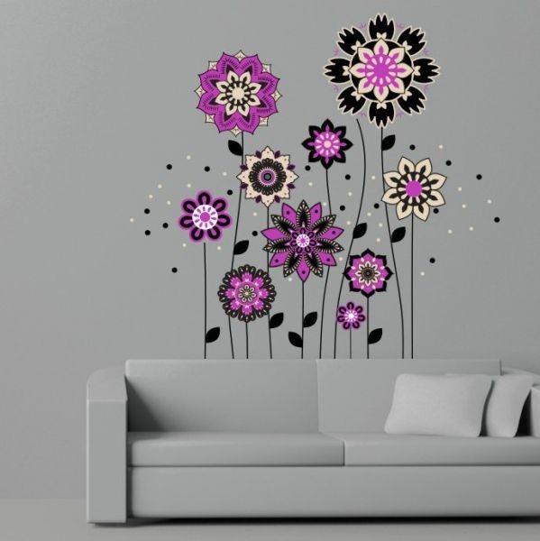 (2465f) Nálepky na stěnu