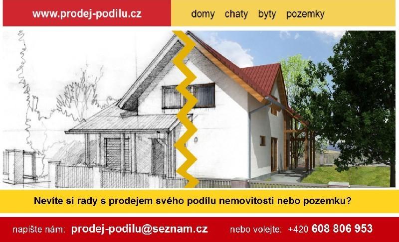 Prodej podílu na nemovitosti.